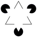illusion optique entre des triangles et des ronds