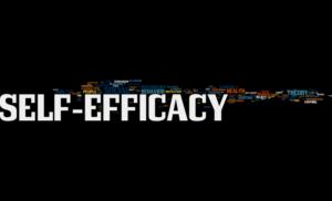 image graphique sur le self efficacy