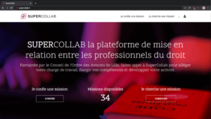 homepage de Supercollab