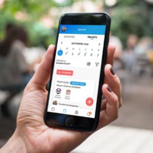 présentation de l'application Cmabulle sur smartphone