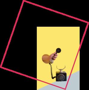 Une image d'une personne qui décroche le téléphone