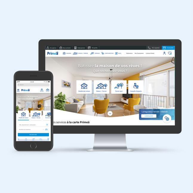 image site desktop et mobile
