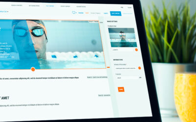 présentation du projet Decathlon sur ordinateur