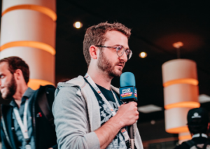 Interview pour We Love Dev au kinépolis de Lomme pour DevFest de Lille