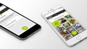 présentation du projet Kozikaza sur écran de smartphone