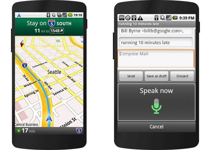 Capture d'écran de google maps sur android 2